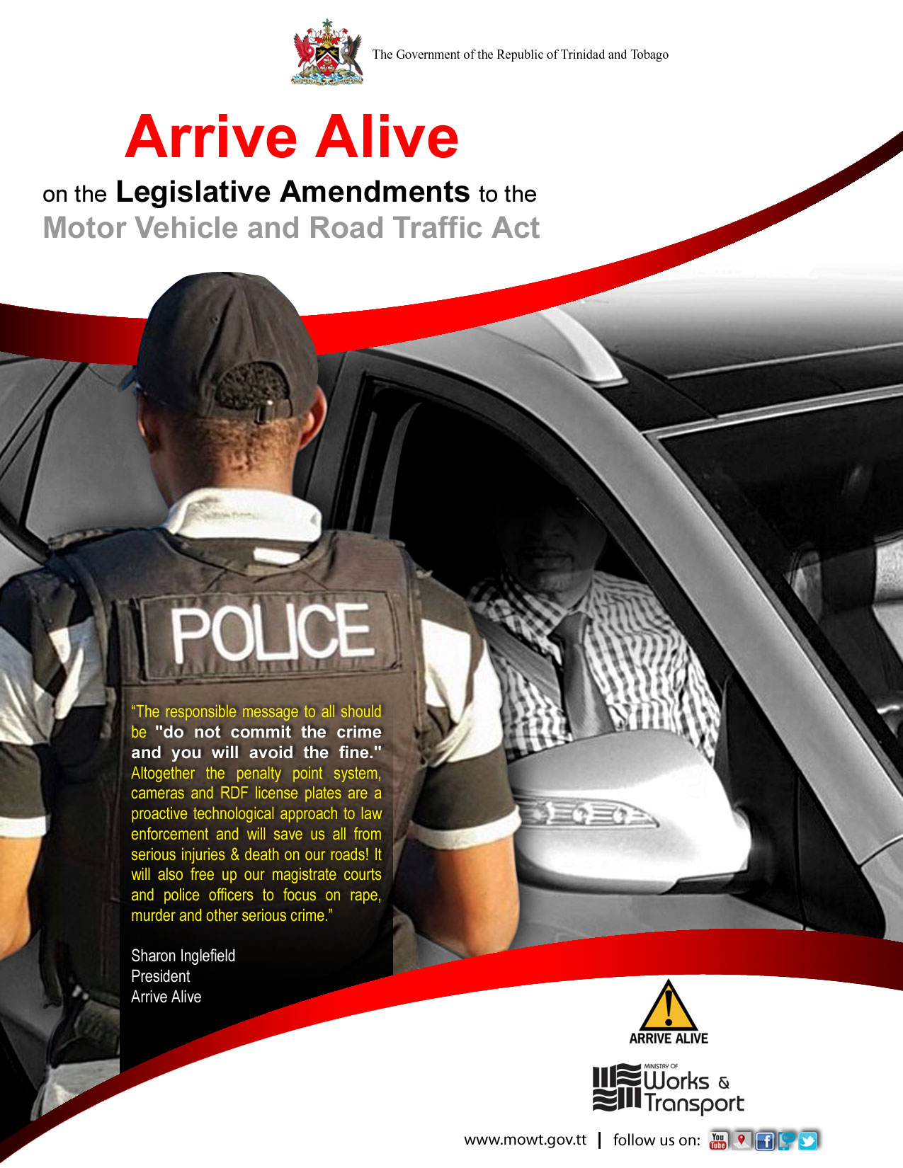 Motor Vehicles and Road Traffic Act – Arrive Alive